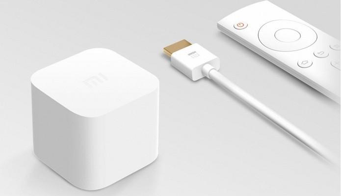 Mi Box Mini traz controle remoto (Foto: Divulgação/Xiaomi)