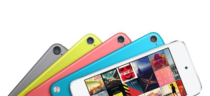 iPod Touch são os mais completos da linha, mas preço é desvantagem contra smartphone (Foto: Divulgação/Apple)