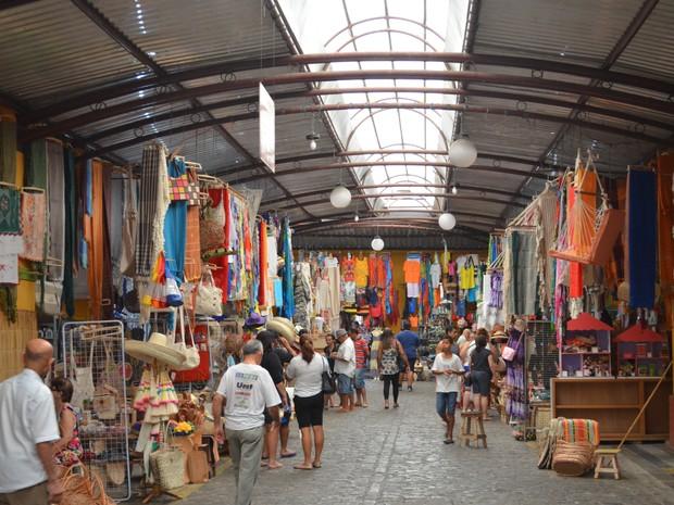 Mercado Municipal Thales Ferraz em Aracaju (Foto: Marina Fontenele/G1)
