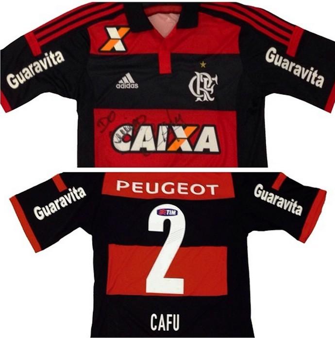 Camisa Flamengo Autógrafo Cafu (Foto: Reprodução / Instagram)
