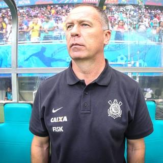 Mano Menezes, Corinthians X Bahia (Foto: Vanessa Carvalho / Agência estado)