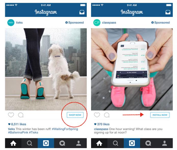 Instagram incentiva compras dentro do app com botão Compre Agora (Foto: Divulgação/Instagram)