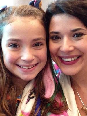 Manuela do Monte e Raíssa Chaddad, a chiquitita Bia (Foto: Reprodução/Instagram)