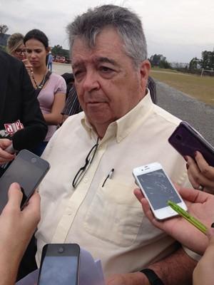 Mauro Arce, secretário (Foto: Caio Prestes/G1)