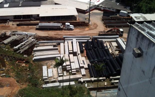local onde ficava a piscina olímpica da fonte nova (Foto: Raphael Carneiro/Globoesporte.com)