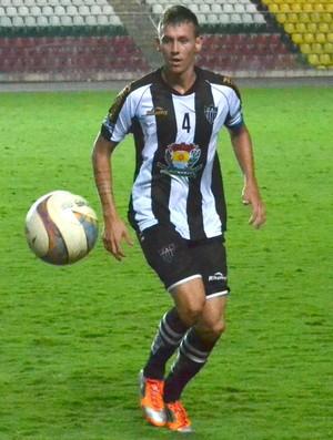 Kléber Viana, zagueiro do Atlético-ES (Foto: Sidney Magno Novo/GloboEsporte.com)