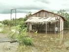 Chuvas e cheia de rio desabrigam 30 famílias em Eldorado dos Carajás