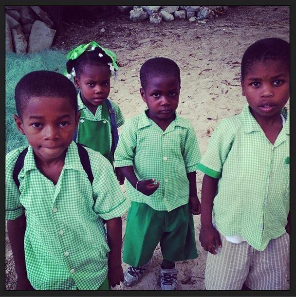 Madonna posta fotos de crianças do Haiti (Foto: Instagram / Reprodução)