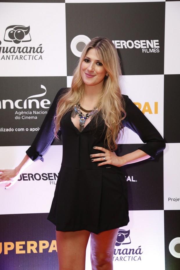 Dani Calabresa em pré estreia no Rio (Foto: Felipe Assumpção/Ag News)
