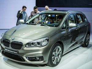 BMW Série 2 Active Tourer (Foto: PIERRE ALBOUY / AFP)