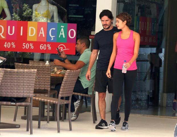 Sophie Charlotte e Daniel de Oliveira (Foto: Andre Freitas/agnews)