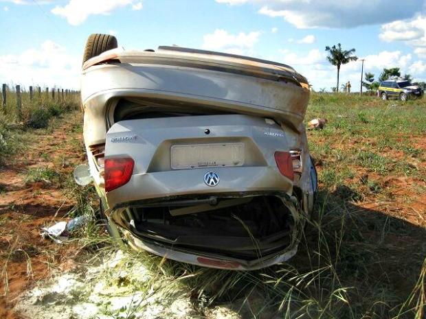 Causas de acidente ainda não foram identificadas (Foto: Assessoria/ PRF-MT)