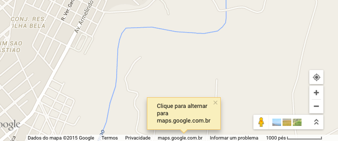 Use o modo lite do Google Maps (Foto: Reprodução/Helito Bijora)