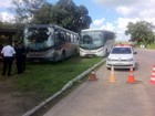 DER apreende ônibus por transporte irregular de passageiros no Agreste
