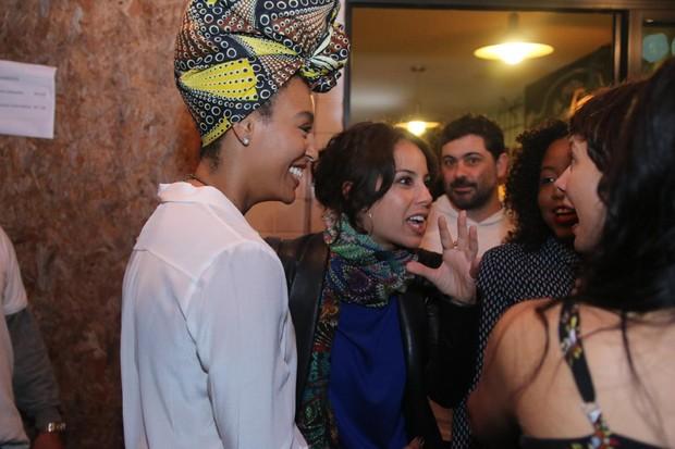 Elenco de Liberdade, Liberdade em festa (Foto: Daniel Pinheiro/Agnews)