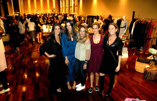 Kim Tranchesi, Carol Nunes, Malu Moura, Ana Diniz e Vivi Mascaro (Foto: Divulgação)