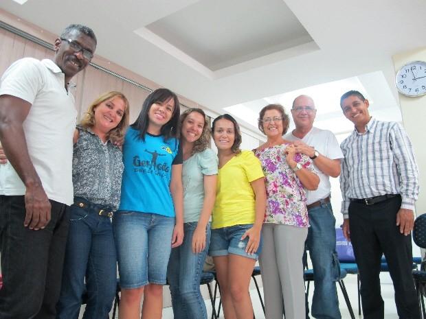 Grupo irá participar do retiro de Carnaval 2013 (Foto: Mariane Rossi/G1)