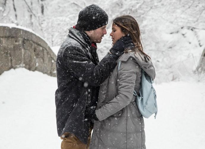Mari e Ben durante viagem à Nova York (Foto: Raphael Dias/ Gshow)