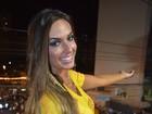 Nicole Bahls e Giovanna Ewbank curtem trios em Salvador