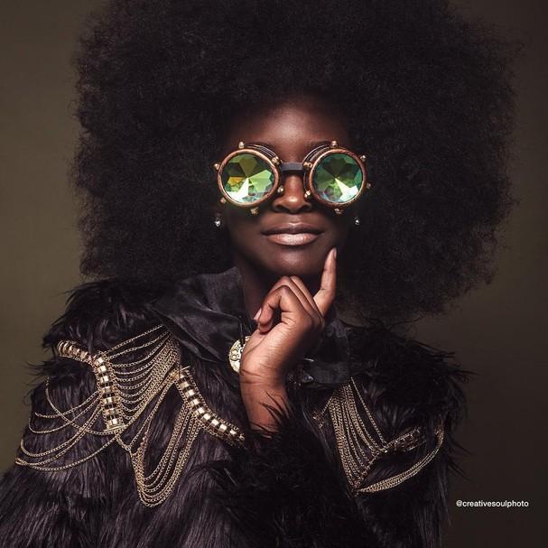 Projeto exalta beleza de crianças negras (Foto: Instagram/Reprodução)
