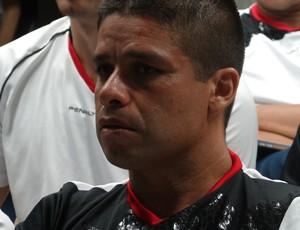 Francisco Carlos do Nascimento, árbitro (Foto: Denison Roma / Globoesporte.com)