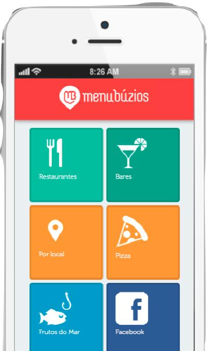 Site é simples e intuitivo (Foto: Divulgação / Menu Búzios)