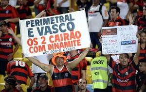 Torcida Flamengo x Atlético-PR (Foto: André Durão)