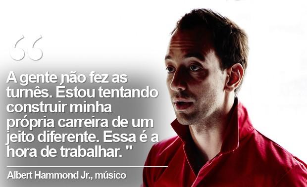 Albert Hammond Jr. (Foto: Divulgação)