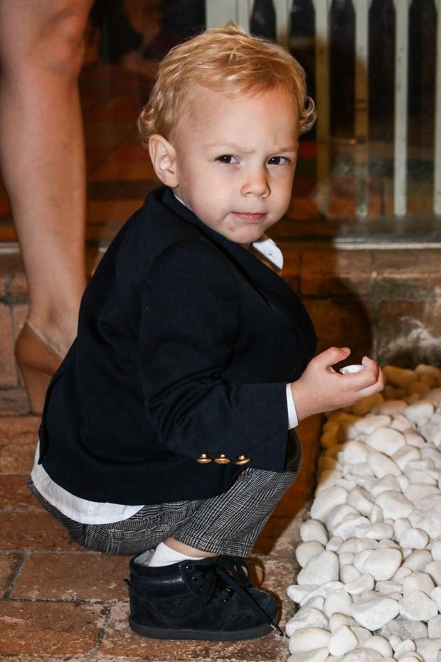 Davi Lucca, filho de Neymar  (Foto: Manuela Scarpa /Foto Rio News)