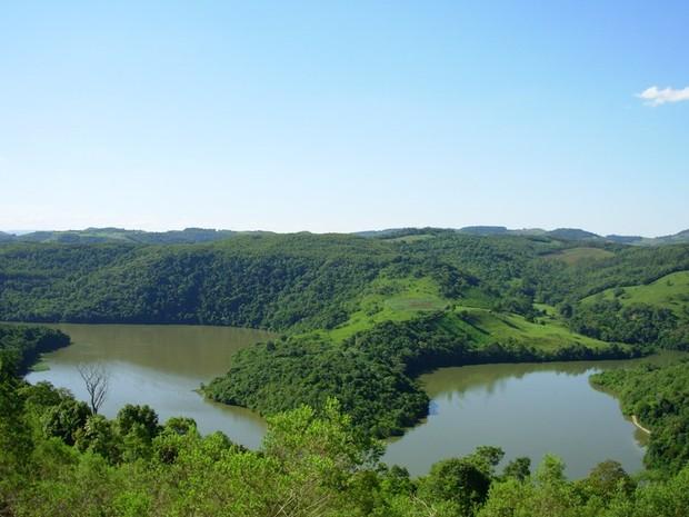 Parque fica entre Rios Uruguai e Queimados (Foto: Arquivo Ecopef/Divulgação)