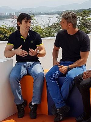 EuAtleta - programa SporTV lesão coluna (Foto: Renata Domingues)
