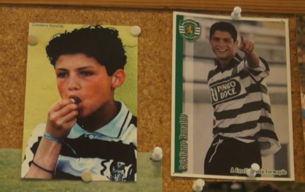 Cristiano Ronaldo; Sporting (Foto: Reprodução SporTV)