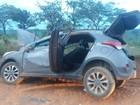 Acidente com carro roubado mata uma pessoa e fere cinco em Luziânia