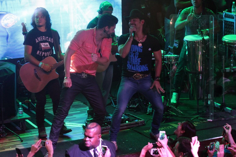 Show Munhoz e Mariano (Foto: Paduardo/Agnews)