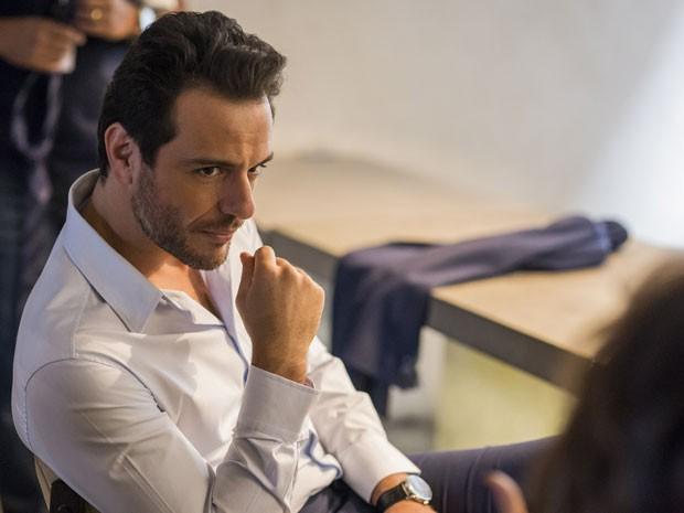Em Verdades Secretas, Rodrigo Lombardi será o poderoso Alex (Foto: Paulo Belote/TV Globo)