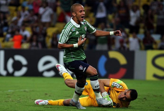 marcos junior marca gol em fluminense e coritiba (Foto: Nelson Perez/Fluminense FC)