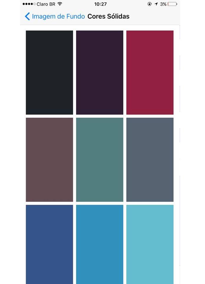 Há uma diversidade de cores disponíveis (Foto: Reprodução/Aline Jesus)