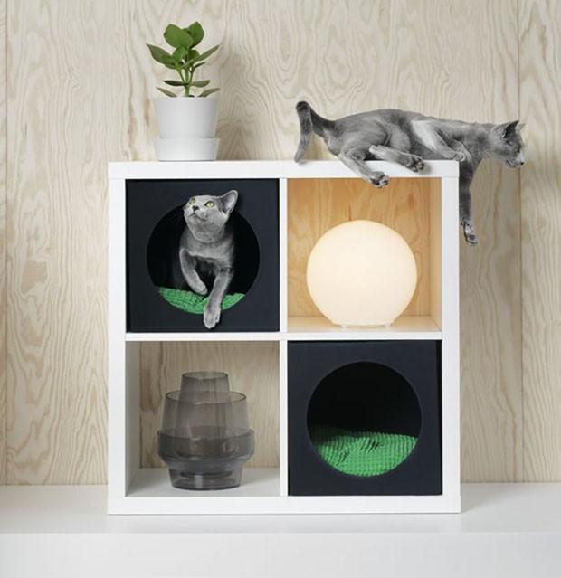 IKEA lança coleção de móveis para cachorros e gatos (Foto: Divulgação)