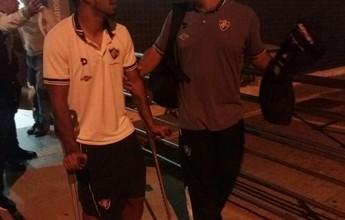 Alexandre Torres lamenta baixa no Fluminense com cirurgia de Sornoza