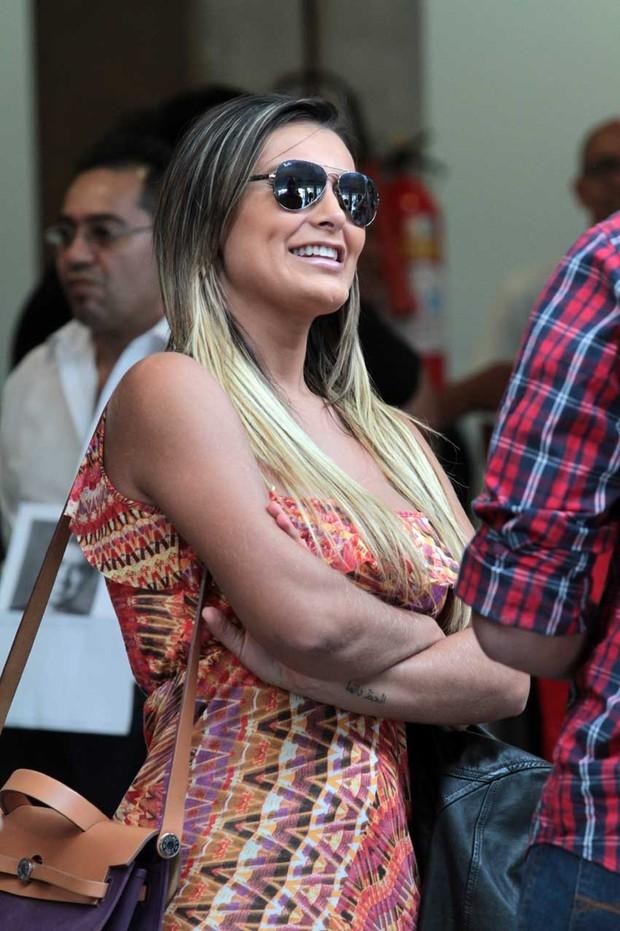 Andressa Urach em SP (Foto: Orlando Oliveira/AgNews)