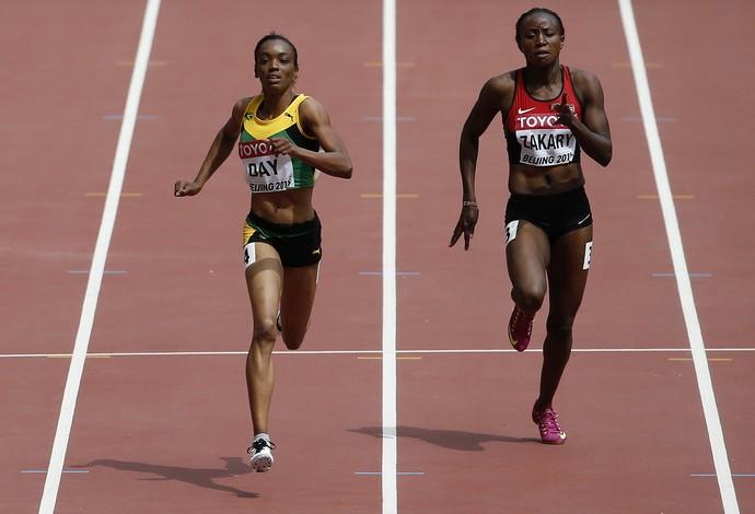 Joyce Zakary Mundial de Atletismo - AP (Foto: AP)