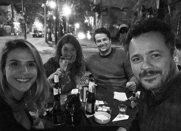Sheila Ramos, Roberta Fernandes, Marcelo Serrado e Danton Mello (Foto: Reprodução/Instagram)