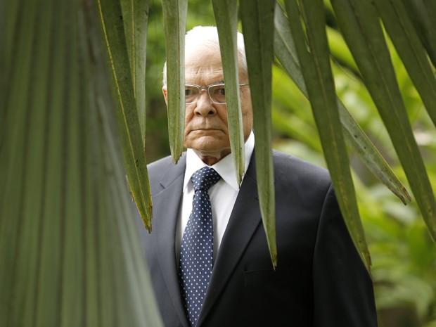 Silviano vigia José Alfredo de longe (Foto: Felipe Monteiro/ Gshow)