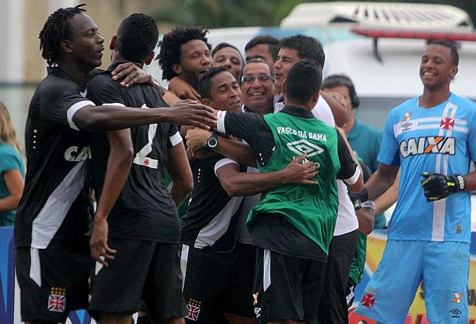 Vasco comemoração gol (Foto: Paulo Fernandes/Vasco.com.br)