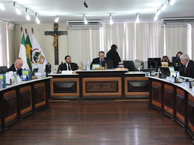 Desembargadores mantiveram condeções por corrupção ativa e passiva (Foto: Divulgação/TJRN)