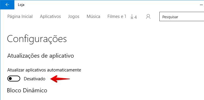 Desativando a atualização automática de apps (Foto: Reprodução/Helito Bijora)