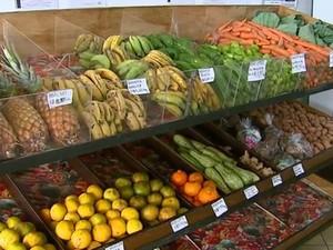 Produtos orgânicos são encontrados com facilidade em São Carlos, SP (Foto: Reprodução/EPTV)
