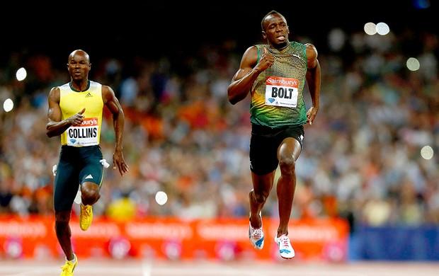 Bolt corrida Diamond League Londres (Foto: Reuters)
