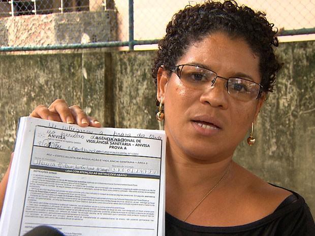 Candidatos a concurso da Anvisa pedem cancelamento de prova na BA (Foto: Imagem/ TV Bahia)