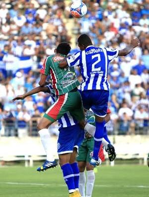 Romário, volante do CSA (Foto: Ailton Cruz/ Gazeta de Alagoas)